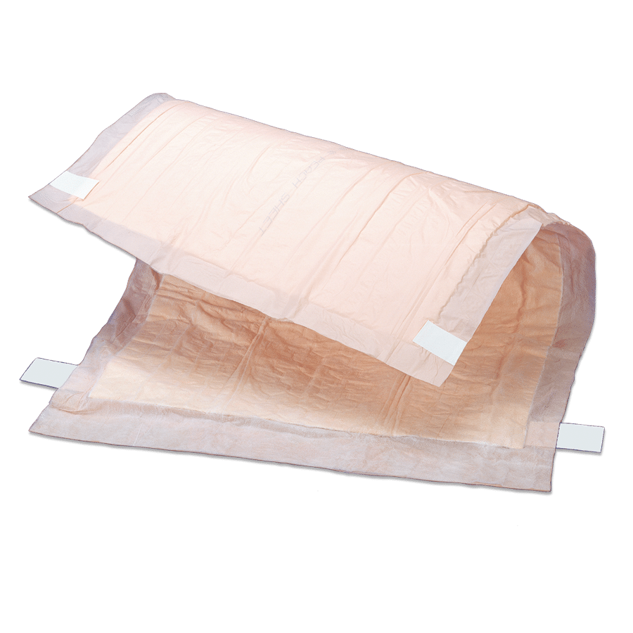 Tranquility Peach Sheet Underpads - 2074