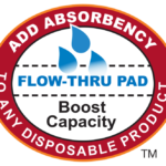 Booster Flow Thru Pad - Add Absorbency to Any Disposable Product