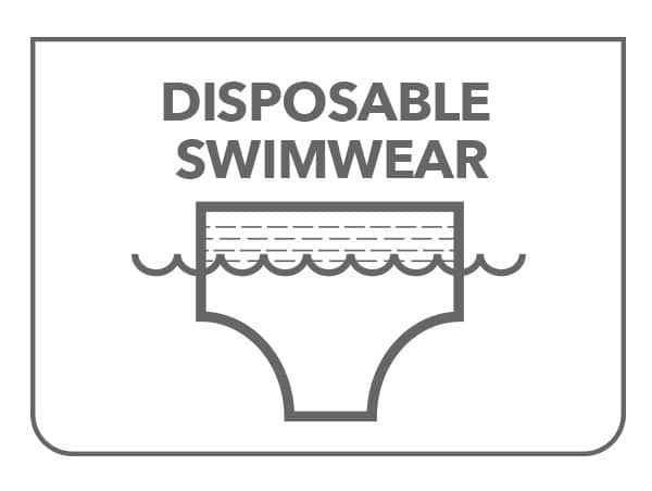 Disposable Swimwear Products – Worn Under a Bathing Suit